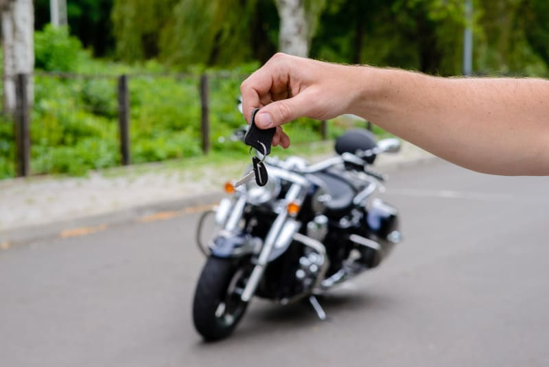 wypożyczanie motocyklu