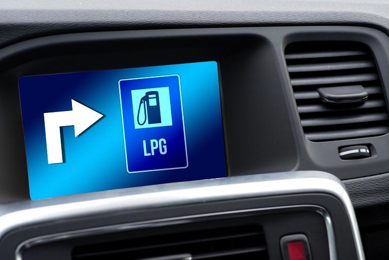 gaz LPG w aucie